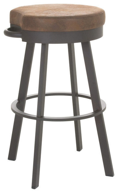 Peachy Amisco Bryce Swivel Stool 34 Spectator Height Andrewgaddart Wooden Chair Designs For Living Room Andrewgaddartcom