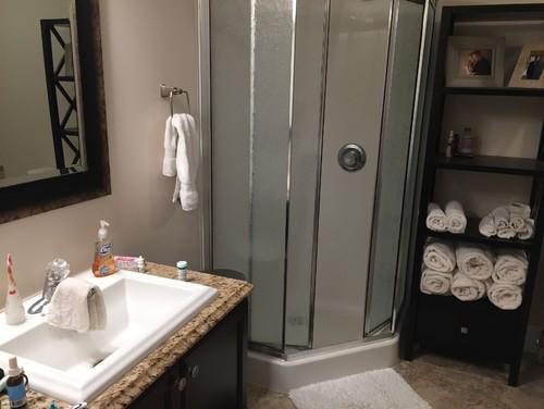 Help me with bathroom decor ideas for Help design my bathroom