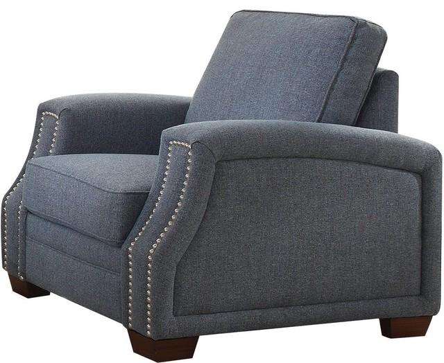 Awe Inspiring Acme Betisa Chair Light Blue Fabric Uwap Interior Chair Design Uwaporg