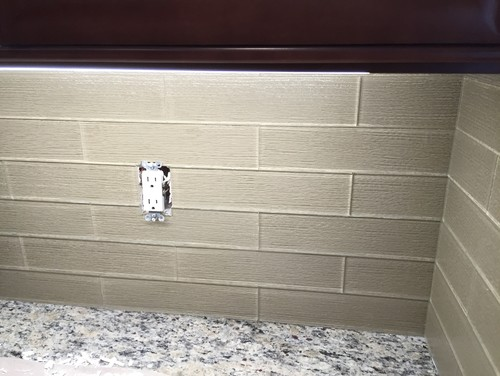 Grouting Kitchen Backsplash Entrancing Kitchen Backsplash Grout Or No Grout Decorating Inspiration