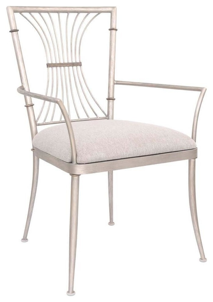 Bal Harbour Dining Chair With Arms Transitional Dining