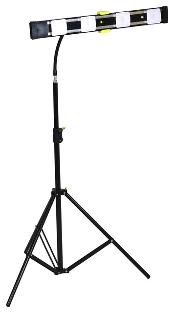 Agilux 3600 Lumen LED Work Light Stand Light With