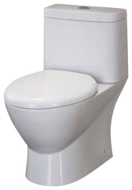 Fresca Serena One Piece Dual Flush Toilet With Soft Close Seat Bidet