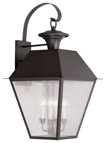 Livex Lighting 2172 Mansfield Large Outdoor Wall Sconce.