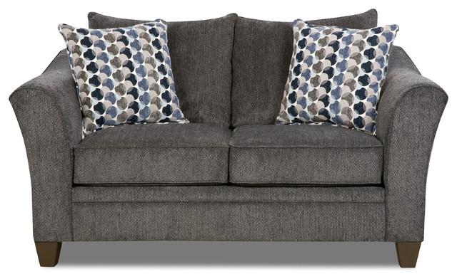 Astounding Simmons Upholstery Albany Slate Loveseat Machost Co Dining Chair Design Ideas Machostcouk