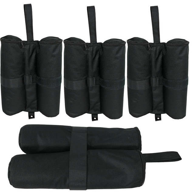 Sunnydaze 25-Pound Capacity Weight Bags For Instant Pop-Up Canopies.