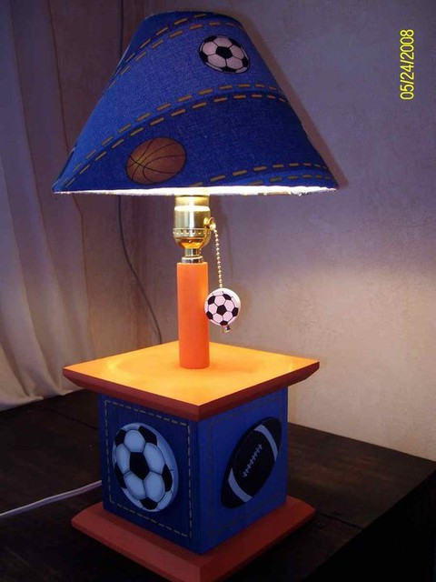 Sports Table Lamps for Kids Room