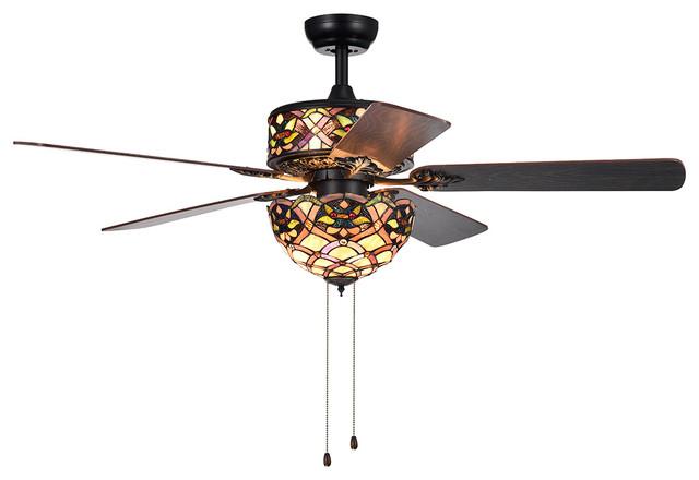 Matte Black Ceiling Fan