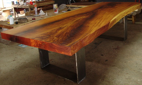 Merveilleux Slab Rosewood Dining Table By Flowbkk