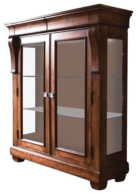 Kincaid Tuscano Solid Wood Display Cabinet, 96 070
