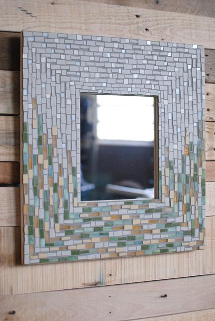 April Showers Mosaic Mirror Frame Richmond By Phoenix Handcraft