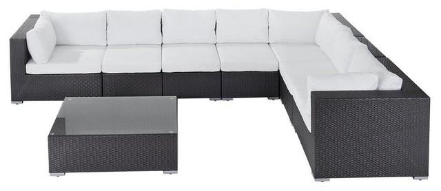 Grande Modular Poly Rattan Garden Lounge Set