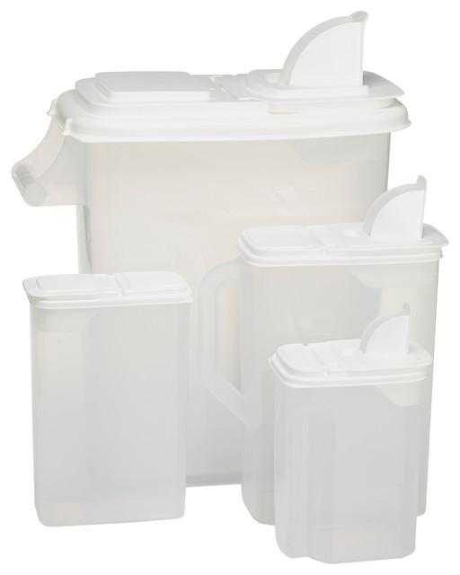 Bag-In All Purpose Dispenser, 8-Piece Set