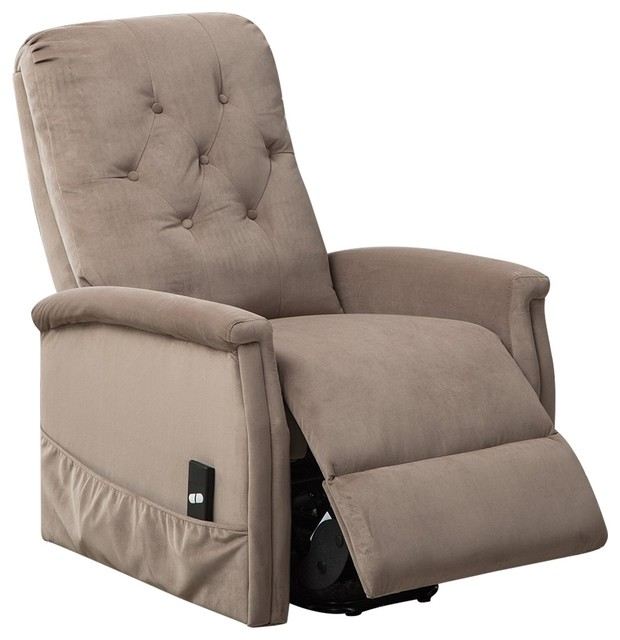 Bonzy Power Lift Chair Tufted Recliners Electric Lift