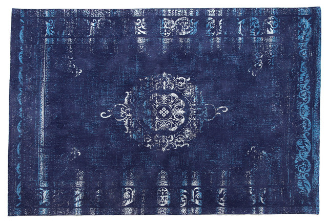 Vintage Area Rug, Night Sky, 160x240 cm