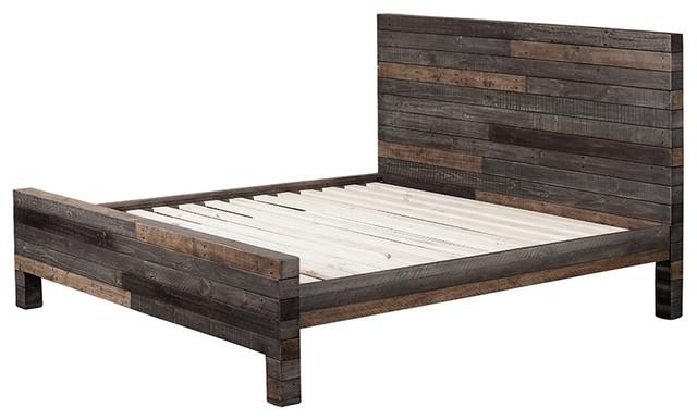 california king size platform bed plans