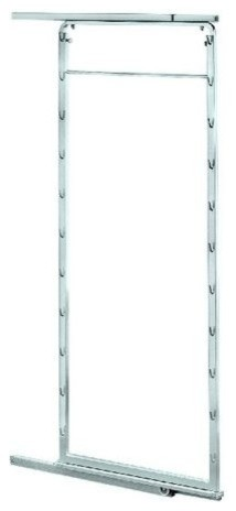 Pantry Pullout Door Frame 45-3/4 - 58-7/8, Silver.
