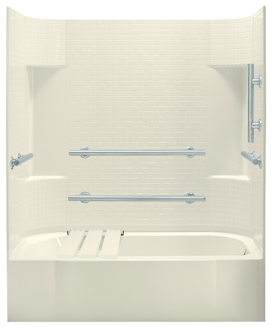 Sterling Accord 72x30.5x60 Vikrell Tub/Shower - Contemporary ...