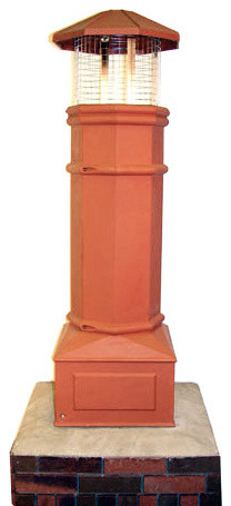 "Cast Classic Lightweight Chimney Pot - All Flue Sizes Up To 18""x18"""