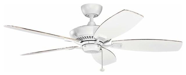 "Kichler 300117 Canfield 52"" Indoor Ceiling Fan."