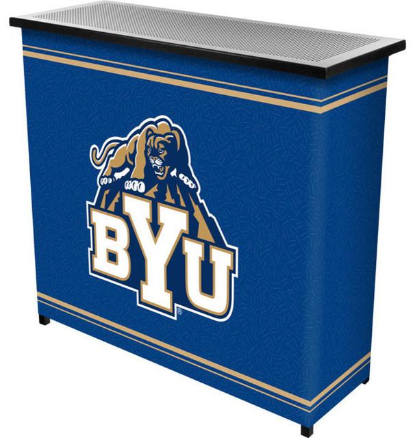 Arizona State University 2 Shelf Portable Bar With Case