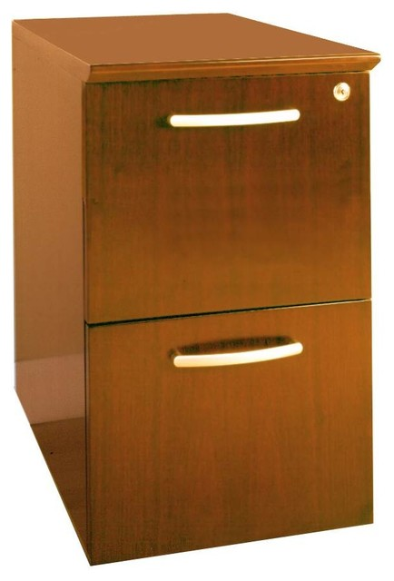 2-Drawer File Pedestal - Contemporary - Filing Cabinets ...