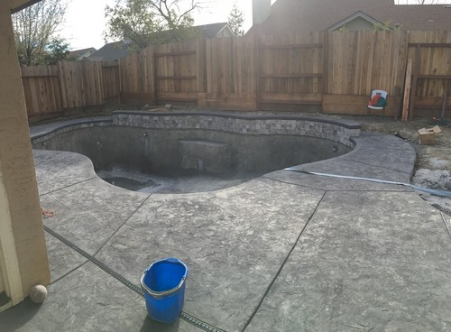 Need help deciding on pool landscaping for Pool design help