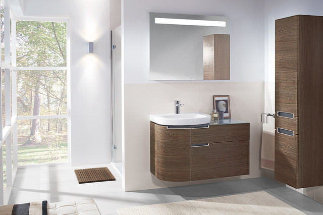 villeroy and boch subway 20 range modern bathroom - Villeroy And Boch Bathroom Cabinets