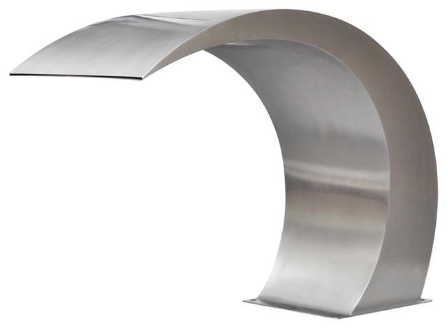vidaXL Garden Waterfall Pool Fountain Stainless Steel, 45x30x60 cm