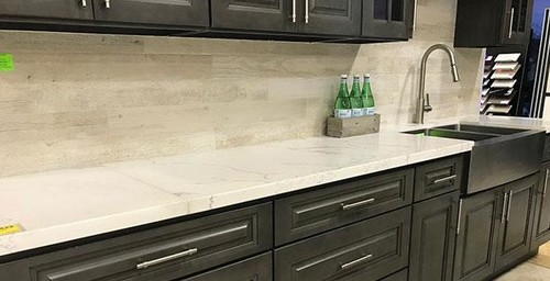 Advice  Counter U0026 Backsplash W/ Dark Grey Cabinets For Kitchen Remodel