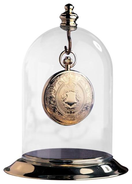 Heirloom Glass Dome Pocket Watch Display