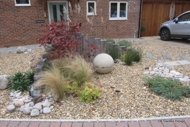 Contemporary Front Garden Contemporary Hampshire By Ck