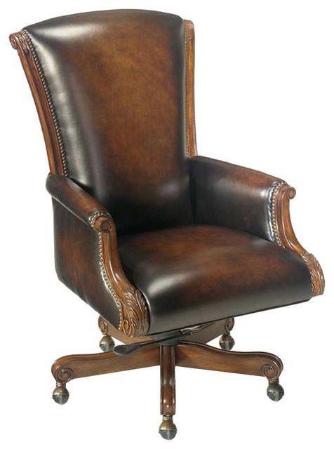 james river edgewood executive swivel tilt chair - traditional