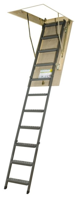 Fakro Owm Metal Basic Attic Ladder, 300lbs.