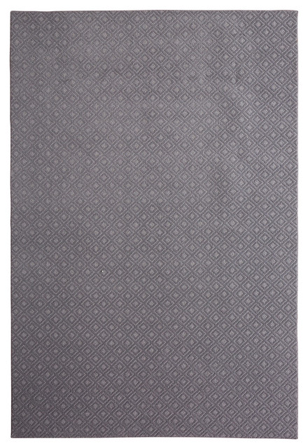 Essential Spaces Paragon Rug, Gray, 6&x27;x9&x27;.