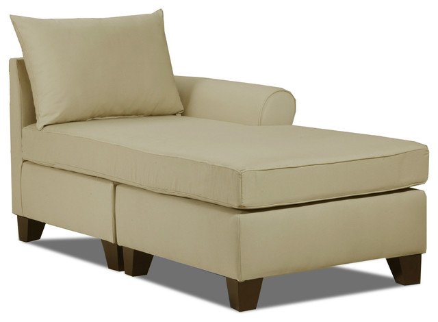 Belle meade right arm chaise khaki craftsman for Chaise kaki