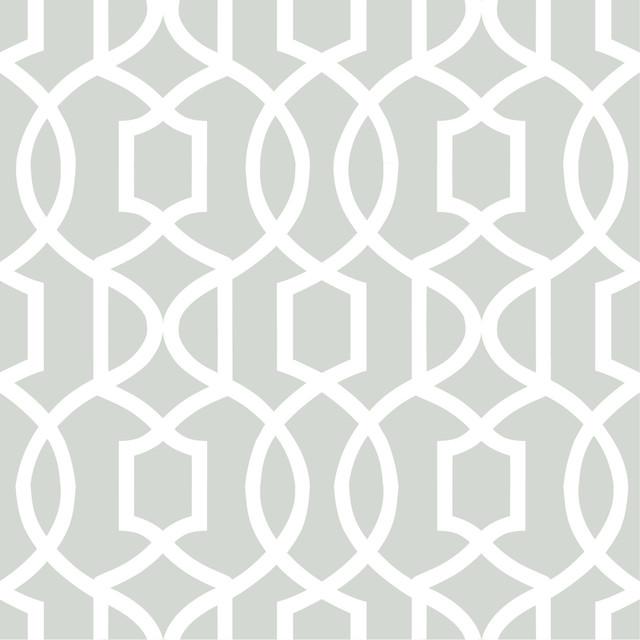 Modern Trellis Peel and Stick Wallpaper Contemporary  : contemporary wallpaper from www.houzz.com size 640 x 640 jpeg 56kB
