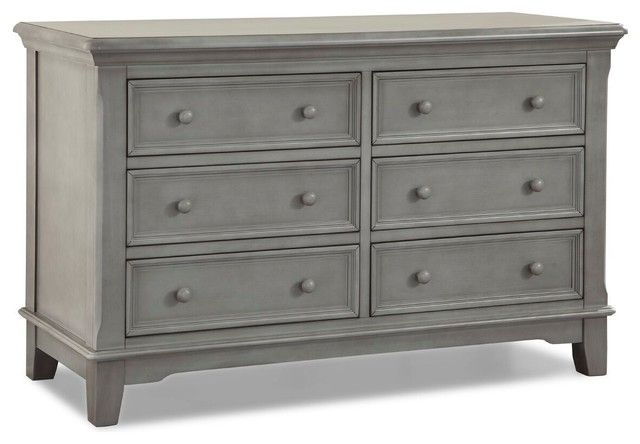 Jonesport 6 Drawer Dresser Transitional Dressers By