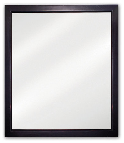 Elements MIR036 Adler Collection Rectangular 24 x 28 Inch Bathroom Vanity  Mirror