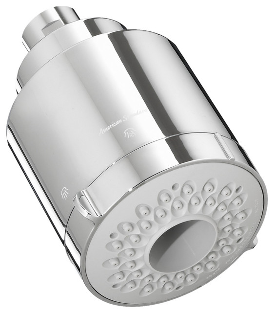 American Standard 1660.613 Multi-Function Shower Head Only - Polished Chrome