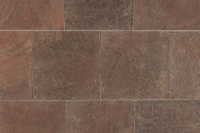 Roterra slate tiles copper slate saw cut natural 16x16 for 16x16 floor tile