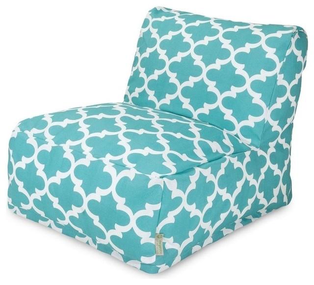 trellis bean bag chair mediterranean bean bag chairs. Black Bedroom Furniture Sets. Home Design Ideas
