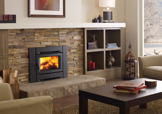 Regency Alterra Ci1250 Wood Fireplace Insert Contemporary Indoor Fireplaces Vancouver By