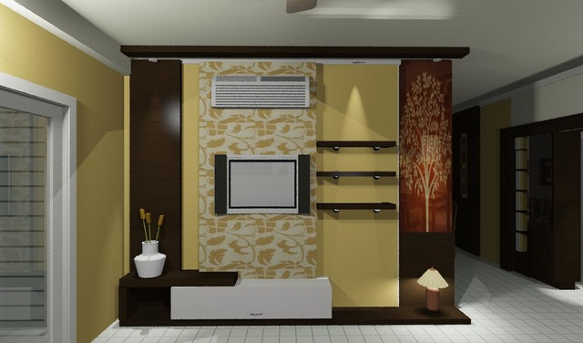 2bhk apartment interiors hyderabad for Apartment interior design hyderabad