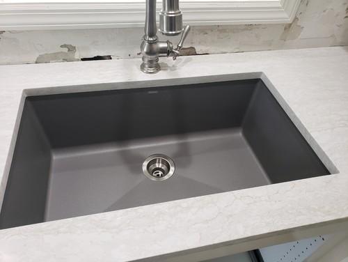 Cambria Ironsbridge + Blanco Granite Composite Sink