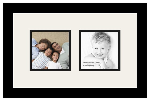 ArtToFrames Alphabet Photography Picture Frame with 2 - 5x5 Openings ...