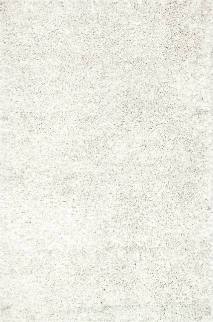 Loloi Rugs Selma Shag White Transitional Hand Woven Rug X-656300HW10-ZSMLES