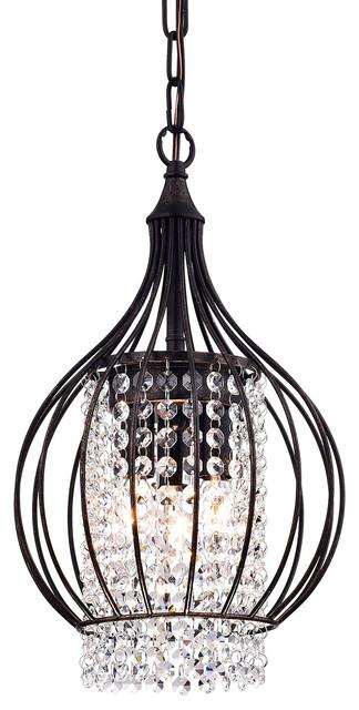 Afaura bell shade crystal chandelier bronze transitional afaura bell shade crystal chandelier bronze aloadofball Images