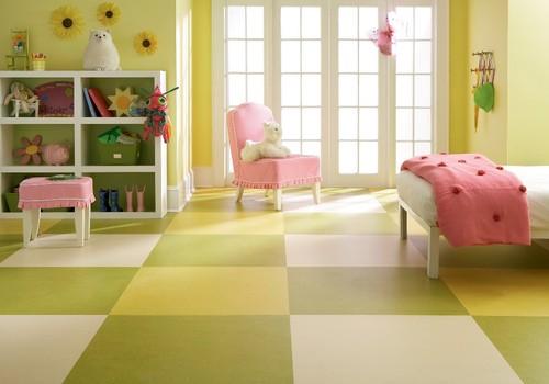 eclectic floors Marmoleum brand linoleum flooring by Forbo