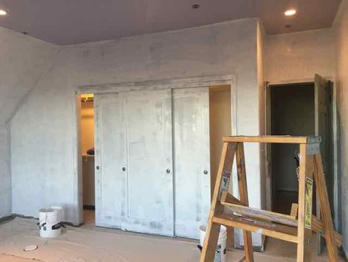 Should I Paint Sliding Closet Doors Same Color As Wall